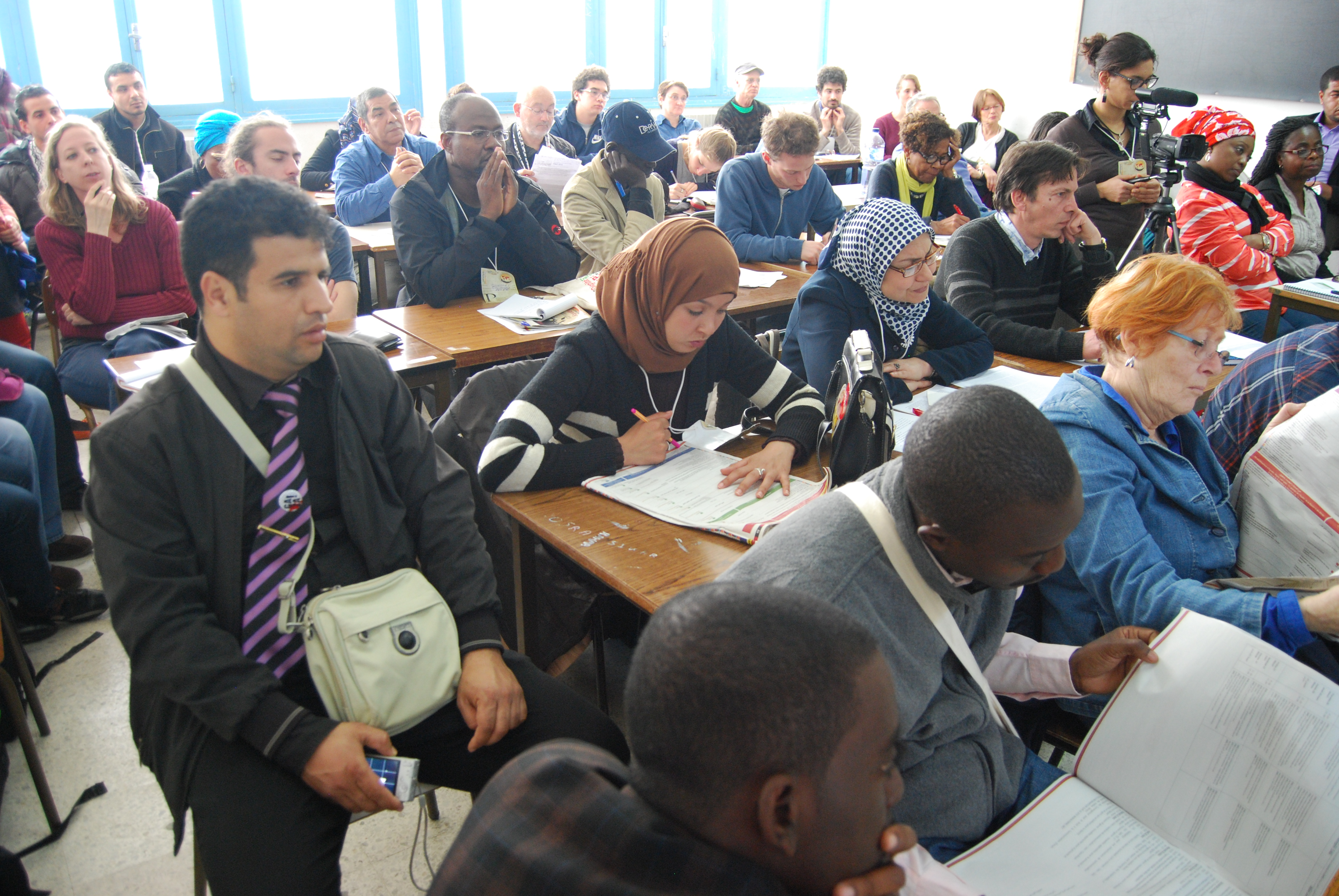 World Social Forum in Tunisia