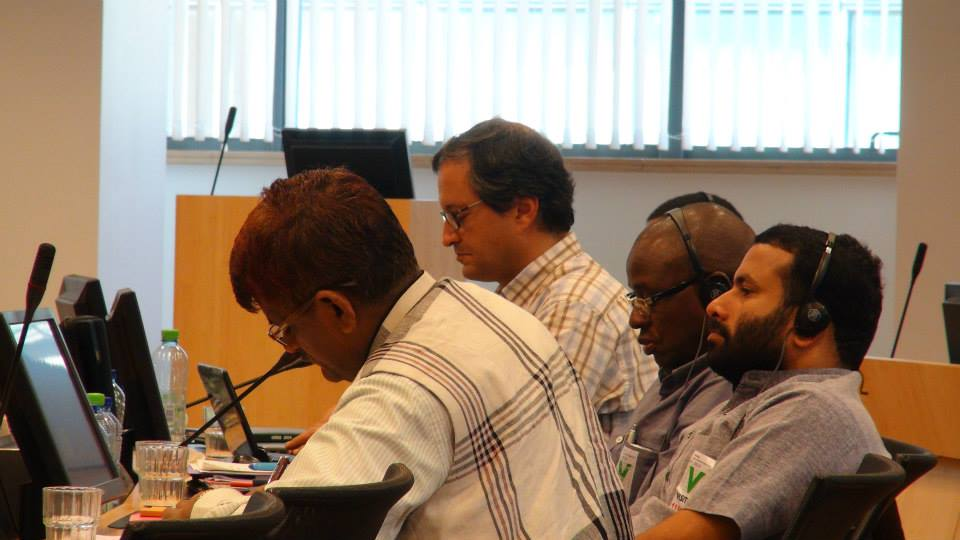 Third meeting of the IOC of WFAL