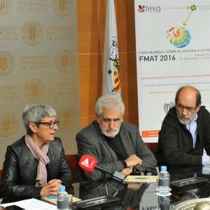 Rueda de prensa- FMAT en la Universidad Politécnica de Valencia